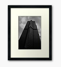Looking Up v6 - The Centre, Hong Kong Framed Print