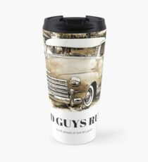 Old Guys Rule It took decades to look this good. Travel Mug