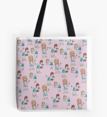 Sassy girl squad Tote Bag