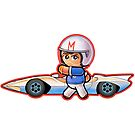 SPEED RACER & MACH 5 Pooterbelly by Pat McNeely