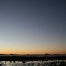 winter sunset by Rob  McDonald
