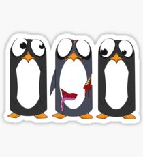 Zombie Penguin Sticker