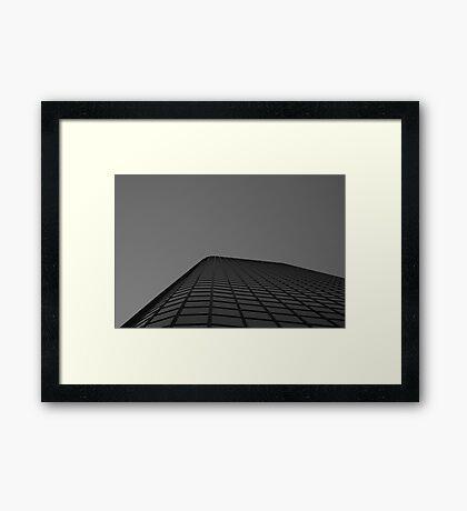 Looking Up v7 - Melbourne CBD Framed Print