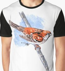 Russet Sparrow Graphic T-Shirt