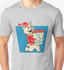 Icy Drink Bear Vintage Sign Logo  Unisex T-Shirt