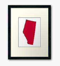 Canada Alberta Framed Print
