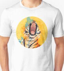 Wild Yawn - Tiger portrait Unisex T-Shirt