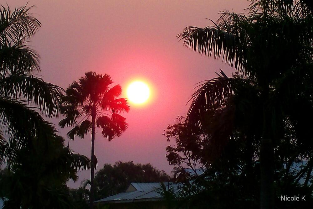 sunset by Nicole K