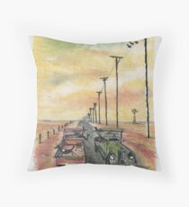 Country chinwag Throw Pillow