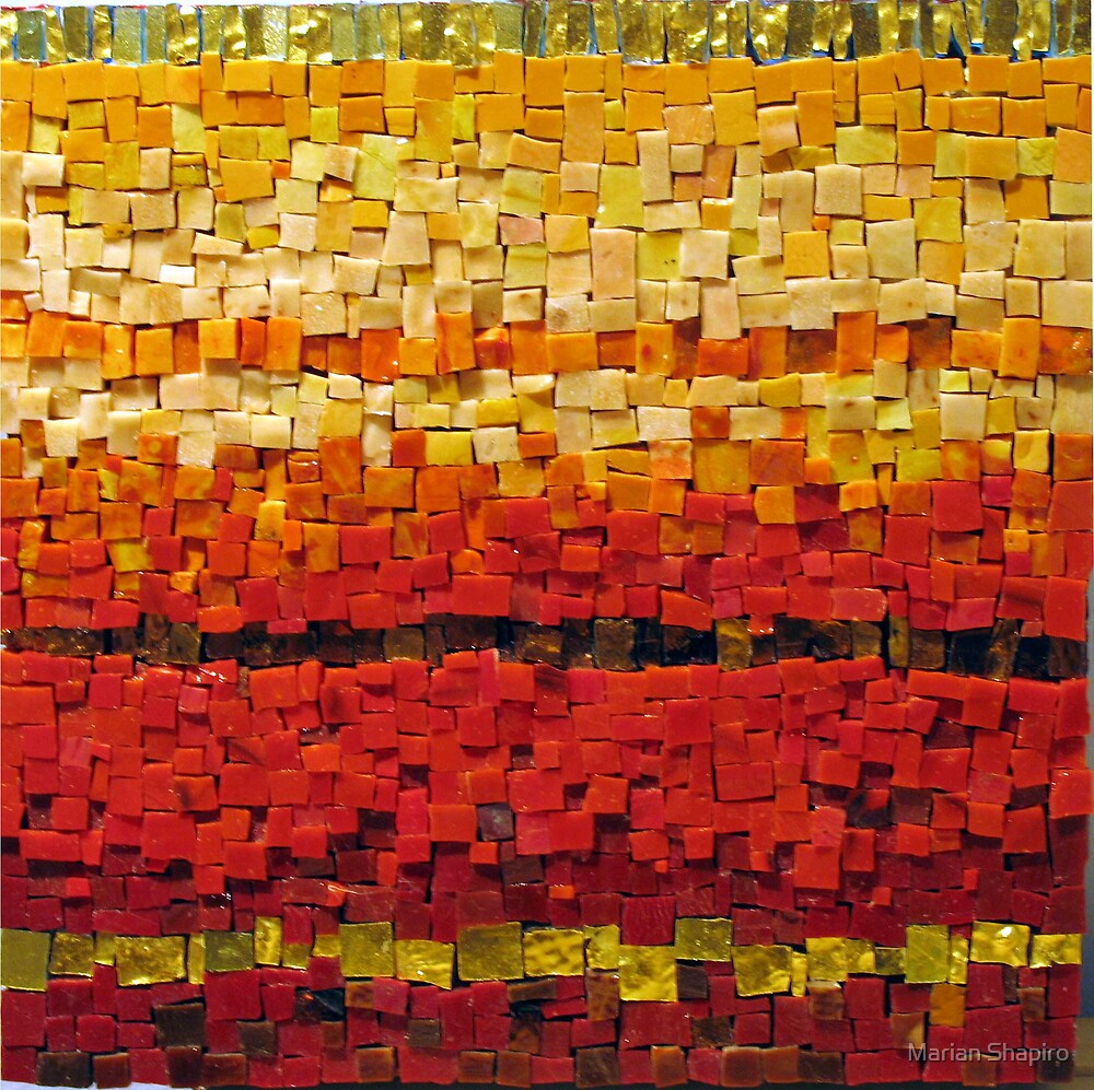 Colour Series: Red/Orange by Marian Shapiro
