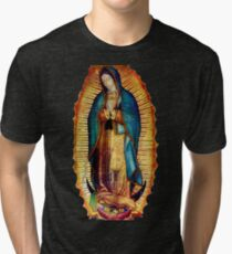 Unsere Dame von Guadalupe Tilma Replica Vintage T-Shirt