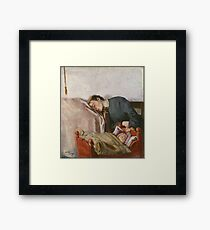 Christian Krohg - Mother And Child 1883 Framed Print