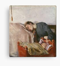 Christian Krohg - Mother And Child 1883 Canvas Print