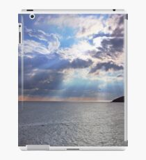 Fishermans Dusk, Lydstep, Tenby. iPad Case/Skin