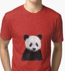 Little Panda Tri-blend T-Shirt