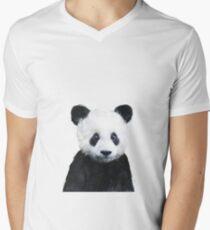 Little Panda V-Neck T-Shirt