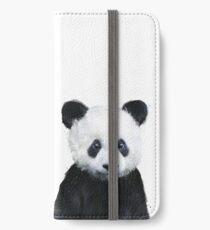 Kleiner Panda iPhone Flip-Case/Hülle/Klebefolie