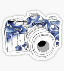 Cannon camera Sticker