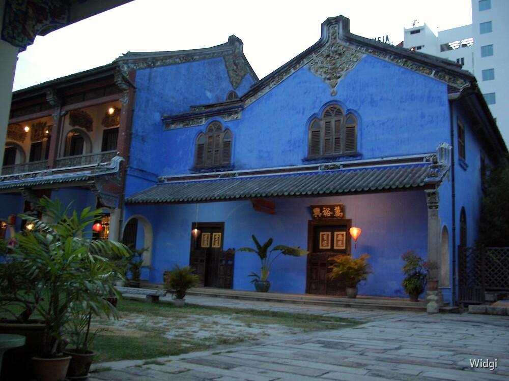 Blue house by Widgi
