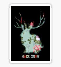 Miiike Snow Rabbit Sticker