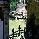 Bali - Gate by Glenys