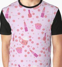Cute pink designer illustration Graphic T-Shirt