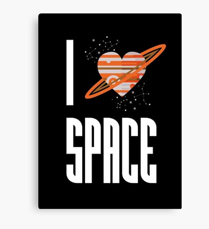 I Heart Space Canvas Print