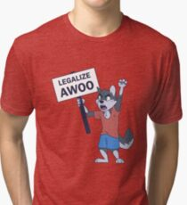 Legalize Awoo Tri-blend T-Shirt