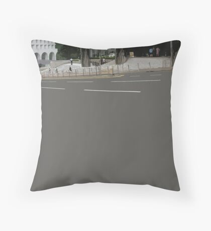 downhill Throw Pillow