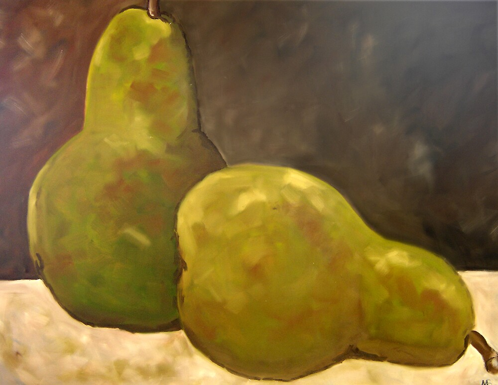 Pears by Marilyn Brown