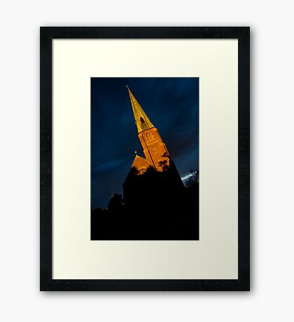 Light and Dark Framed Print