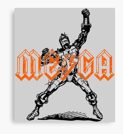 Mega Punk Robot Canvas Print