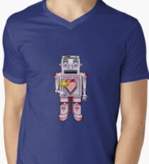 LOVE ROBOT V-Neck T-Shirt