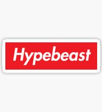 Hypebeast Supreme HD Sneakerhead Yeezy Colorway Logo Sticker