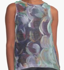 "Acrylic Painting ""Hillside Grapes"" Contrast Tank"