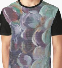"Acrylic Painting ""Hillside Grapes"" Graphic T-Shirt"