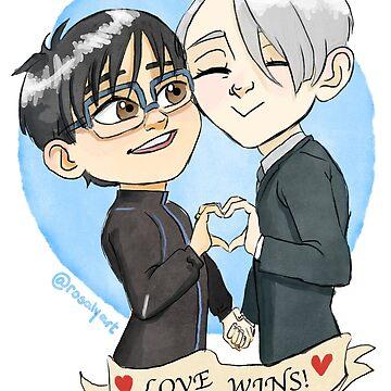 Love Wins by jeanbeanart