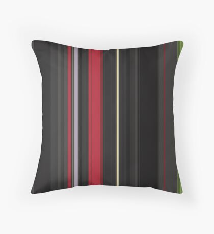Red Green Throw Pillow