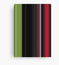 Red Green Card Canvas Print