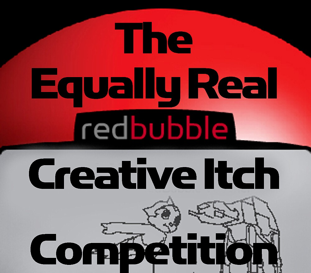 Creative Itch Competition by RedBubble T-Shirt Competition