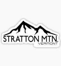 SKIING STRATTON MOUNTAIN VERMONT SKI SNOWBOARDING MOUNTAIN LONDONDERRY Sticker