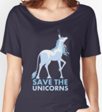 Save the Unicorns Women's Relaxed Fit T-Shirt