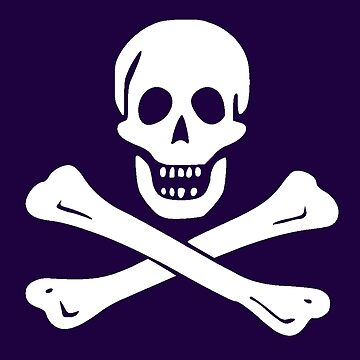 JOLLY ROGER-WHITE by IMPACTEES