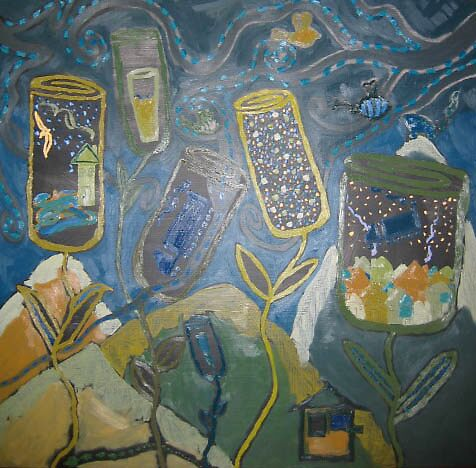 "'Invitation through the gardens"" by zoe nalbantof"