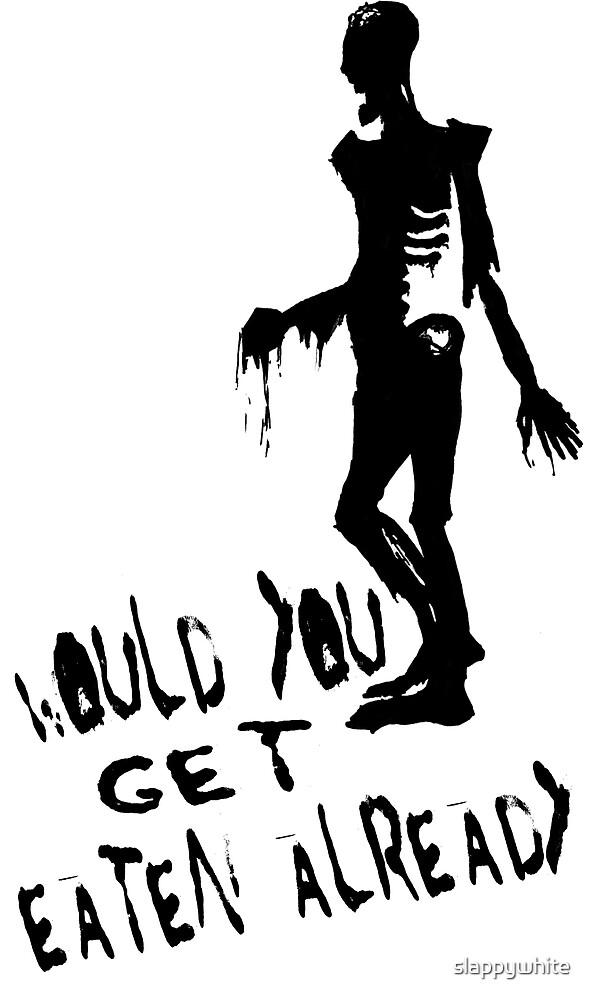 Zombie by slappywhite