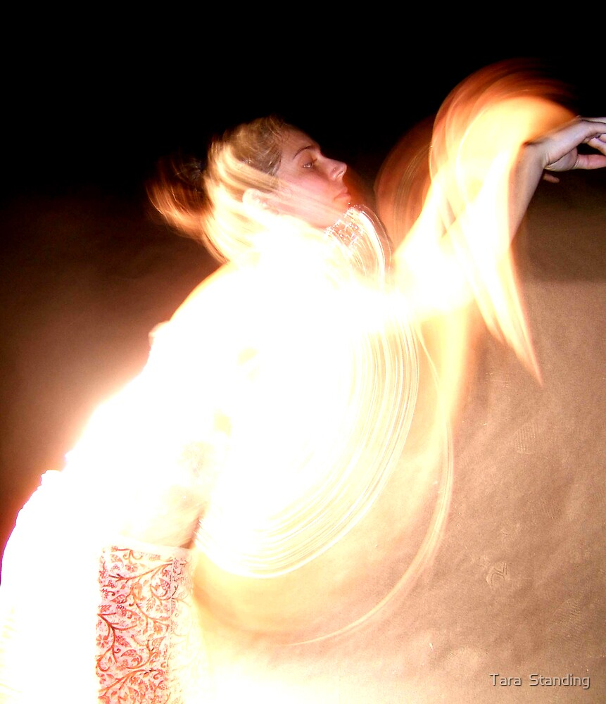 Fire Dance #3 (2006) by Tara  Standing