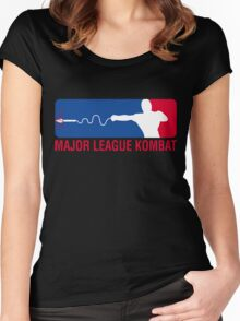 Major League Kombat Women's Fitted Scoop T-Shirt