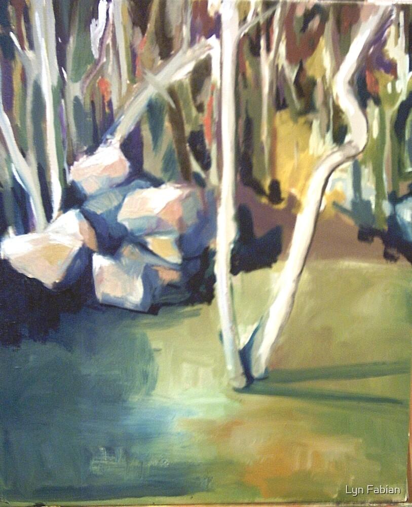 Landscape study 1 by Lyn Fabian