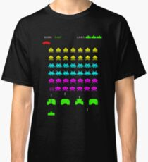 Invaders From Space Classic T-Shirt