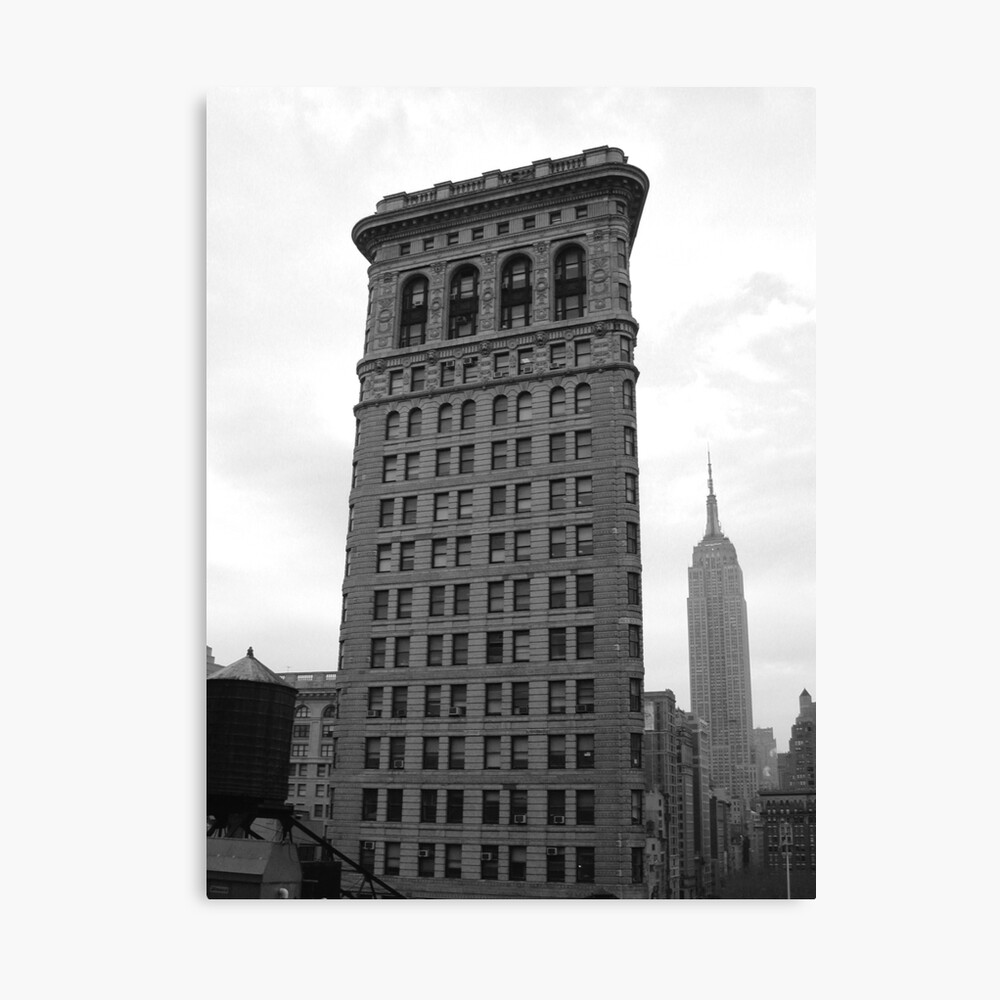 The Flat Iron Building and the Empire State Building Canvas Print